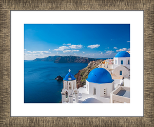 Aged Metallics Framed Print example 1