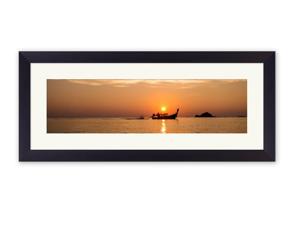 Rustic Framed Print example