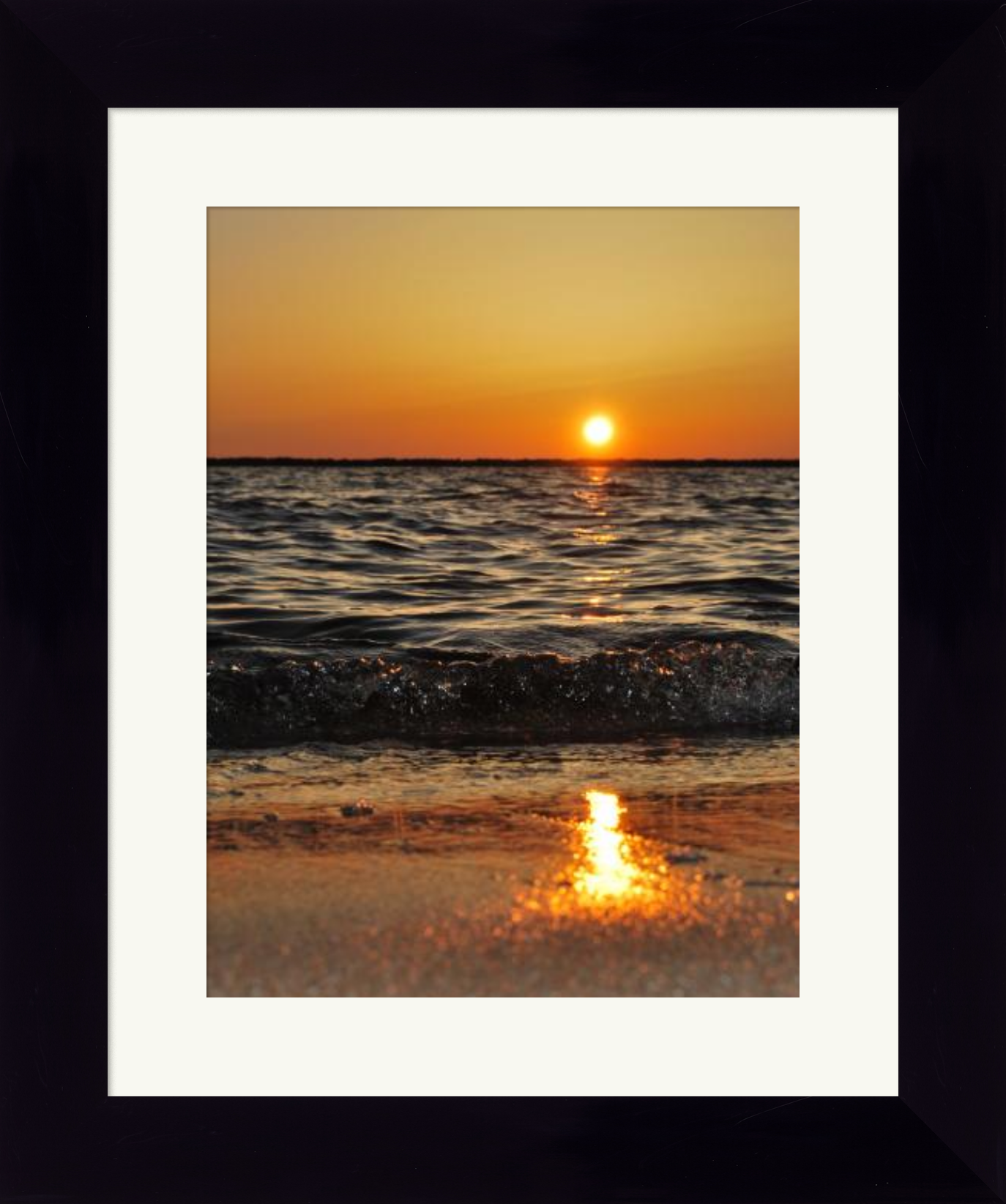 Perfect Gloss - Wide - Framed Print example