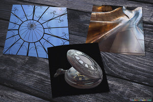 Satin Laminated Square Metallic Photographic Print