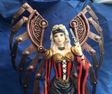 Steampunk Avenger Winged Ornament by Anne Stokes