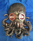 Steampunk Bioctopus Wall Ornament by Nemesis Now