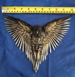 Steampunk Blade Raven Wall Ornament by Nemesis Now