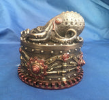 Steampunk Boxtopus Trinket Box. Veronese Studio Collection