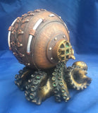 Steampunk Clocktopus Desk Clock by Nemesis Now