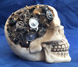 Steampunk Clockwork Cranium Skull by Nemesis Now