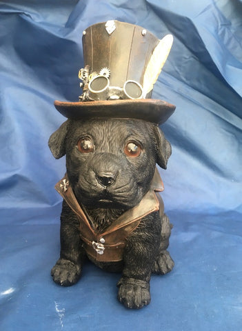 Steampunk Cogsmiths Dog by Nemesis Now