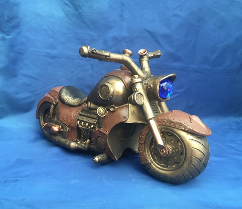 Steampunk Cogwork Cruiser by Nemesis Now