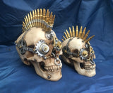 Steampunk Gears of War Skull by Nemesis Now