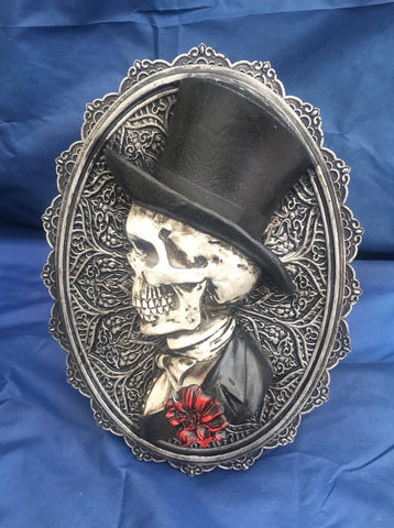 Steampunk Handsome, Beautiful Plaque. Nemesis Now