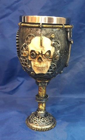 Steampunk Left Off Some Steam Goblet by Nemesis Now