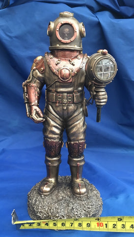 Steampunk Mariners Descent Ornament Figurine. Veronese Studio Collection
