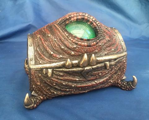 Steampunk Mimic Trinket Box. Veronese Studio Collection