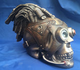 Steampunk Monocle Skull Ornament. Veronese Studio Collection