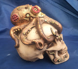Steampunk Octo Craniotomy by Nemesis Now