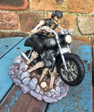 Ride out of Hell Skeleton Biker by James Ryman