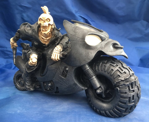 Road Warrior Skeleton Biker by Nemesis Now