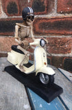 Scooter Skeleton by Nemesis Now
