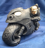 Speed Freak Skeleton Biker by Nemesis Now