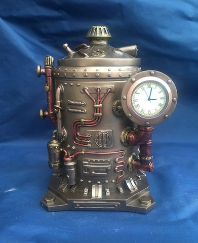 Steampunk Time Displacement Capsule. Veronese Studio Collection