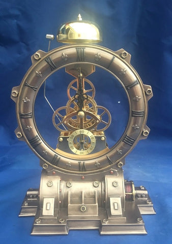Steampunk Time Machine Clock. Veronese Studio Collection