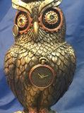 Steampunk Time Wise Owl Ornament. Veronese Studio Collection