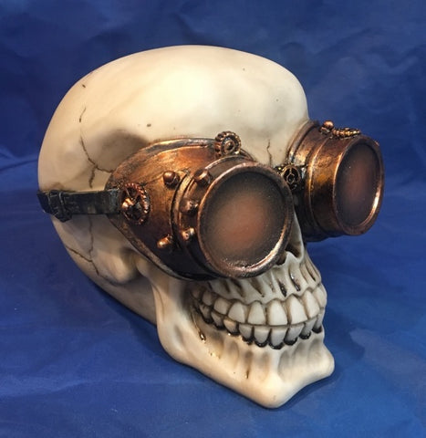 Steampunk Visionary Skull by Nemesis Now