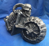 Wreckless Ride Skeleton Biker by Nemesis Now