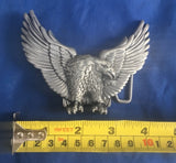 Eagle (right) - Metal Belt Buckle