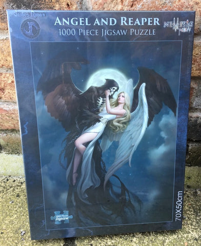 Angel & Reaper Jigsaw by James Ryman