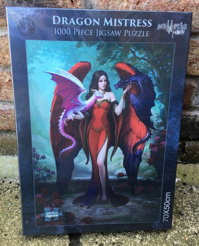 Dragon Mistress Jigsaw by James Ryman