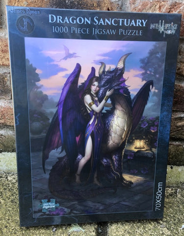 Dragon Sanctuary Jigsaw by James Ryman