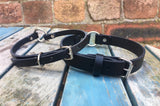 O-Ring Leather Choker 10mm or 20mm wide