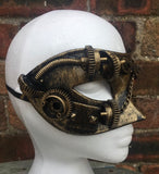Steampunk Puzzled Masquerade Mask by Nemesis Now