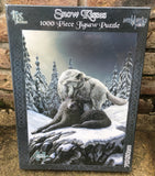 Snow Kisses Jigsaw by Lisa Parker
