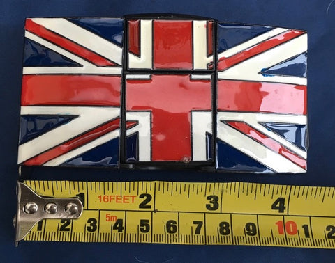 Union Flag (Jack) with Lighter - Metal Belt Buckle