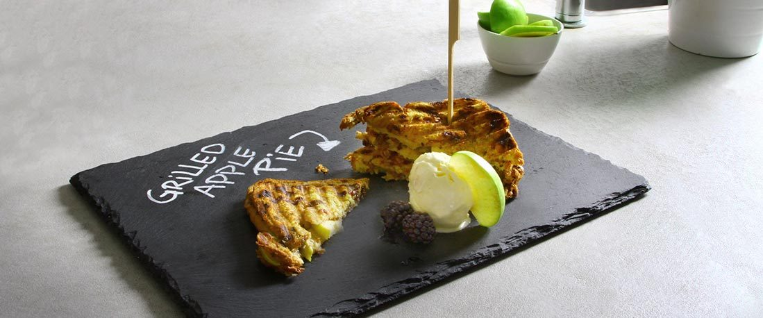 Tosti – Grilled Apple Pie