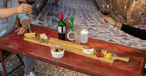 BOSKA Serving Board Friends XL - Coronaproof Pizza Party at Home