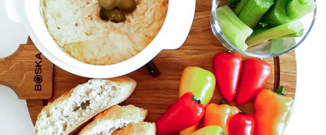 Buffalo Chicken Cheese Dip - BOSKA Cheese Baker recipe photo