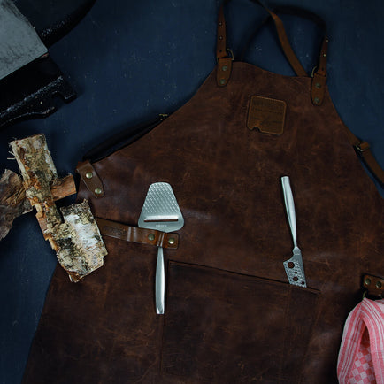 955052 - BOSKA Mr Smith Apron Brown Cross-Body