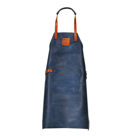 955054 - BOSKA Mr Smith Apron Blue Pocket