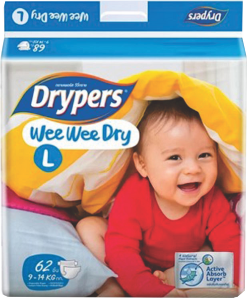 Drypers Large