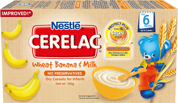 Nestle Cerelac BL Wheat Banana