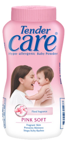 Tender Care Talc Pink