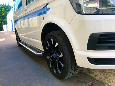 "VW T6 ab Bj. 15 KRS Trittbretter ""Monsoon"""