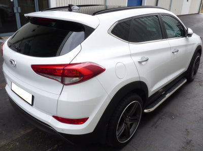 "Hyundai Tucson Bj. 15-17 Trittbretter ""High Flyer"" - Direct 4x4 Autozubehör"