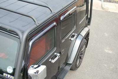 Jeep Wrangler Unlimited ab Bj. 07 Türgriff Chrom Cover - Direct 4x4 Autozubehör