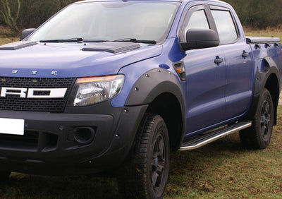"Ford Ranger Double Cab ab Bj. 16 Trittbretter ""Raptor"" - Direct 4x4 Autozubehör"
