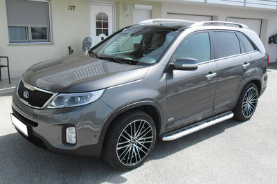 "Kia Sorento Bj. 13-15 Trittbretter ""Monsoon"" - Direct 4x4 Autozubehör"