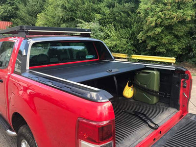 "Ford Ranger Double Cab ab Bj. 16 Hardtop Abdeckung ""Roll N Lock"" - Direct 4x4 Autozubehör"